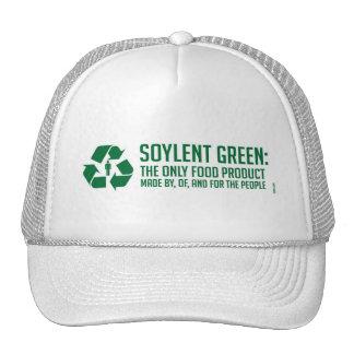 Chapeau vert de Soylent Casquette De Camionneur