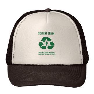 Chapeau vert de Soylent Casquettes