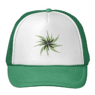 Chapeau vert d'étoile casquette de camionneur