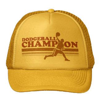 Chapeau vintage de camionneur de champion de casquettes