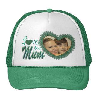 Chapeaux de photo du jour de mère pour des mamans casquettes