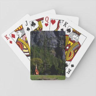Chapel at Yosemite Playing Cards