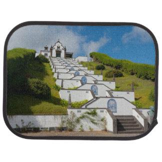 Chapel in Azores islands Car Mat