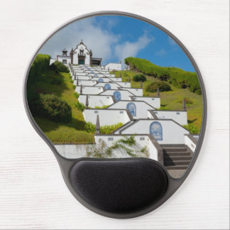 Chapel in Azores islands Gel Mouse Pad