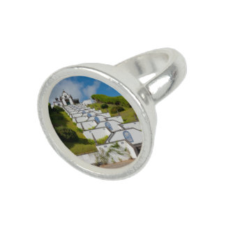Chapel in Azores islands Rings
