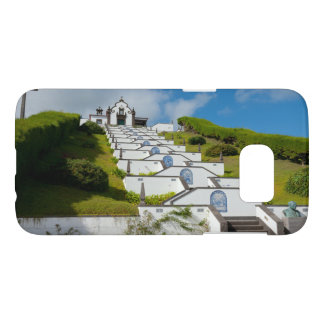 Chapel in Azores islands Samsung Galaxy S7 Case