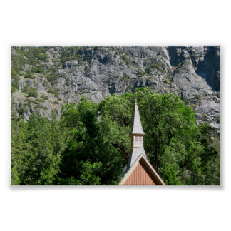 Chapel in Yosemite Valley Posters