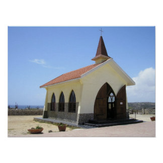 Chapel of Alto Vista Poster