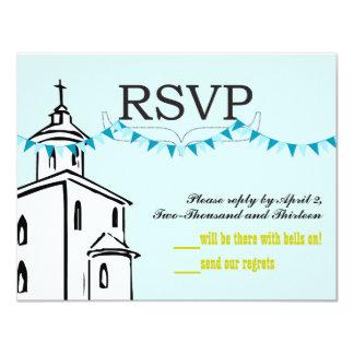 Chapel RSVP-size for RSVP Envelopes Card