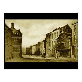 Chapel Street, Liverpool, 1797 Postcard