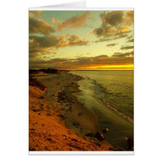 Chapin Beach Sunset Greeting Card