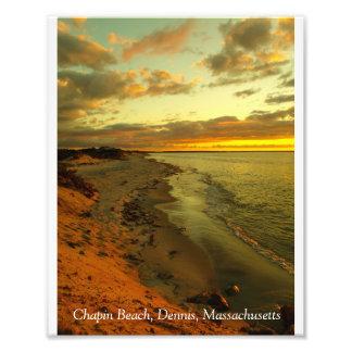 Chapin Beach Sunset Photo Print