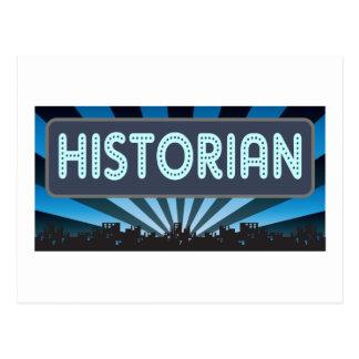 Chapiteau d'historien cartes postales
