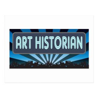 Chapiteau d'historien d'art carte postale