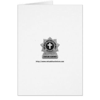 Chaplaincy Badge Logo Greeting Card