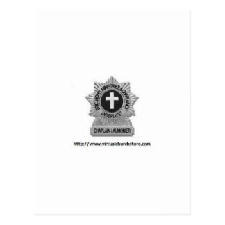 Chaplaincy Badge Logo Postcard