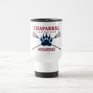 ChapLAX Claw Logo 15 oz Travel Mug