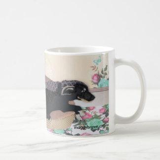 Chapman's Lab and Kitty Cat Coffee Mug