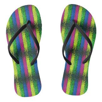 Chappal design flip flops