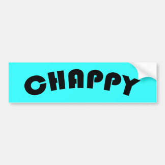Chappy Bumper Sticker