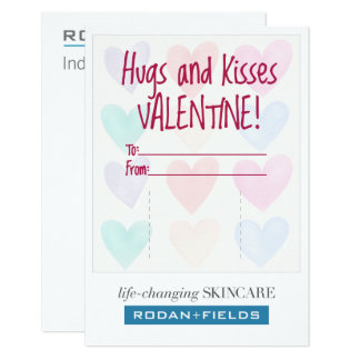 Chapstick Hugs and Kisses Card for R + F