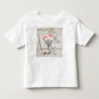 Chaque enfant est un artiste t-shirt pour les tous petits
