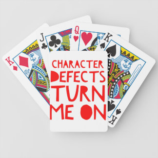 Character Defects Recovery Sober Drunk Bicycle Playing Cards