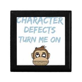 Character Defects Recovery Sober Drunk Gift Box