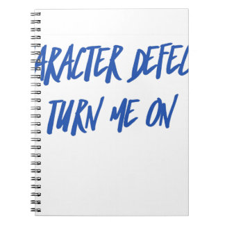 Character Defects Recovery Sober Drunk Notebooks