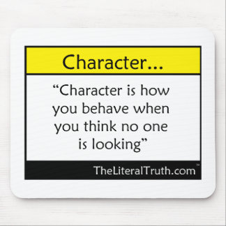 Character... Mouse Pad