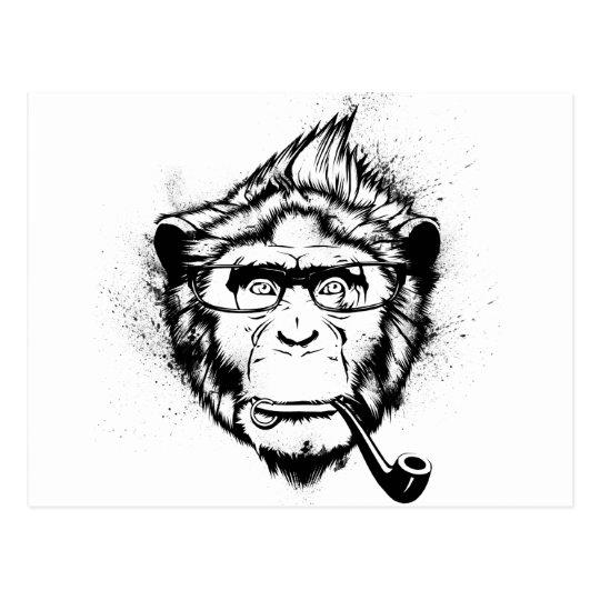 Characteristic Chimp Postcard