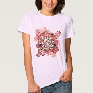 Characters Pink Shirt