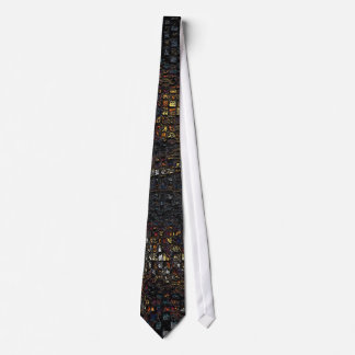 Charcoal Checkers Tie