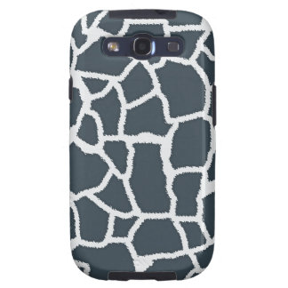 "Charcoal Color Giraffe ""animal print"" Samsung Galaxy SIII Cover"