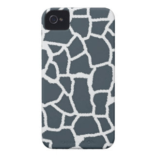 """Charcoal Color Giraffe """"animal print"""" iPhone 4 Case-Mate Cases"""