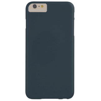 Charcoal Gray Barely There iPhone 6 Plus Case