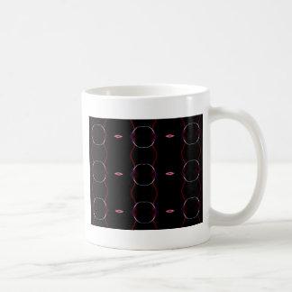 Charcoal Gray Hot Pink Seamless Pattern Coffee Mug