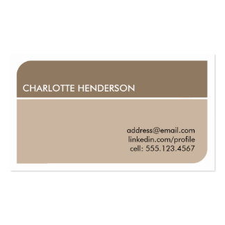Charcoal gray smart student employment resume card pack of standard business cards