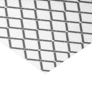 Charcoal Gray Trellis by Redux 121 Design Studio Tissue Paper