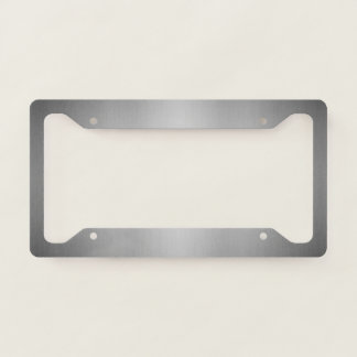 Charcoal Grey Licence Plate Frame