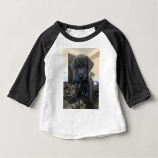 charcoal labrador, baby T-Shirt