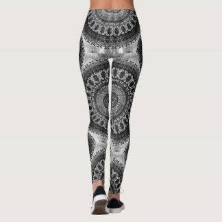 Charcoal Mandala Leggings