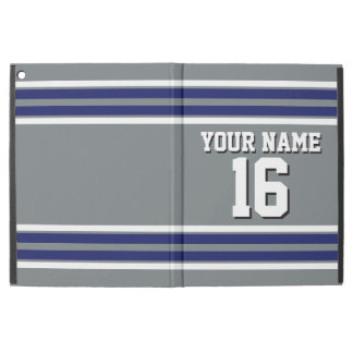 Charcoal Navy White Team Jersey Custom Number Name