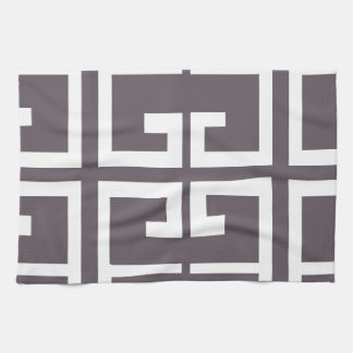 Charcoal Spanish Tile Kitchen Towels
