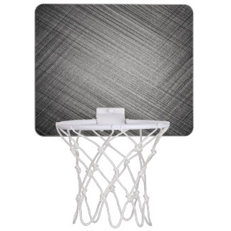 Charcoal Stitch Mini Basketball Hoop