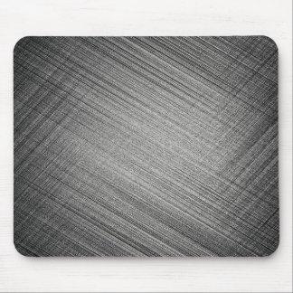 Charcoal Stitch Mouse Pad