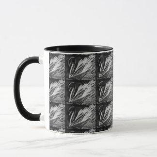 Charcoal Swan Mug