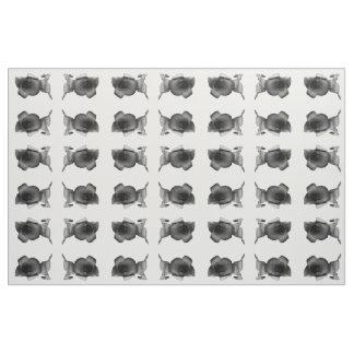 Charcoal Wildflower Fabric