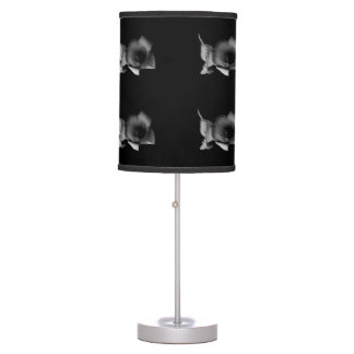 Charcoal Wildflower Table Lamp
