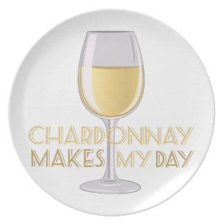 Chardonnay Party Plates